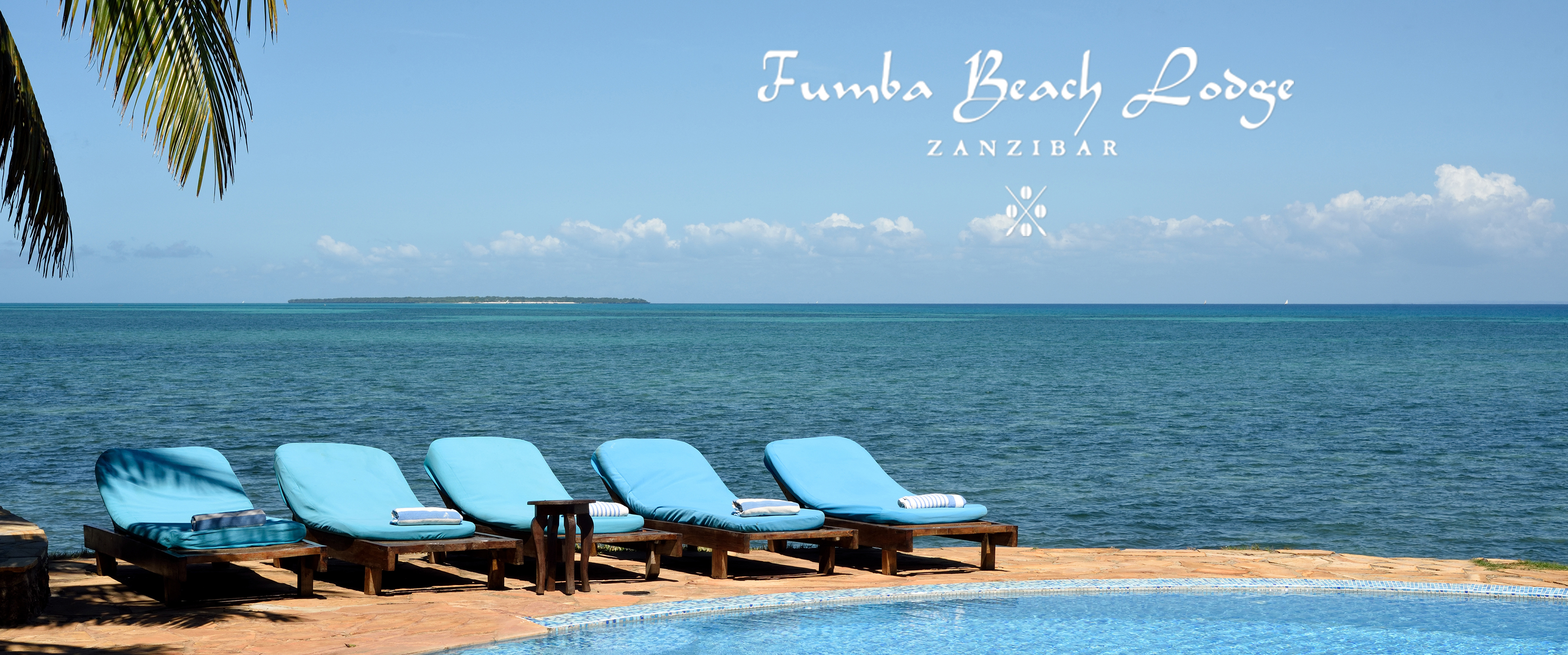 Fumba Beach Lodge Swimming Pool View